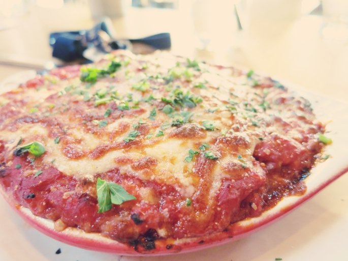 Turkey lasagna for him~