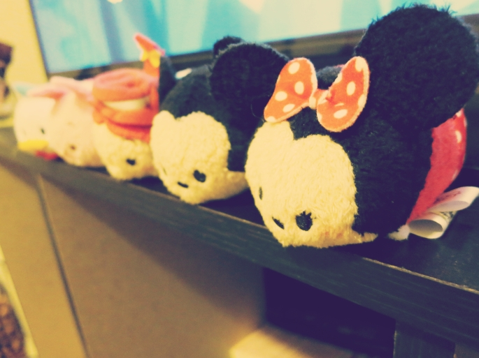 He got me more Tsum Tsum's! (Yes, I have an obsession with them)...