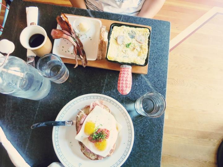 Broder Cafe breakfast