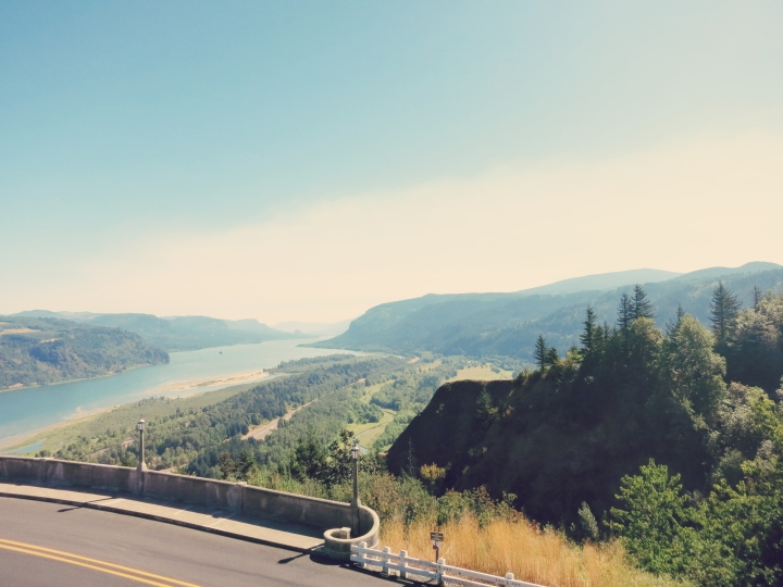 Vista House: first stop  of Columbia River Gorge