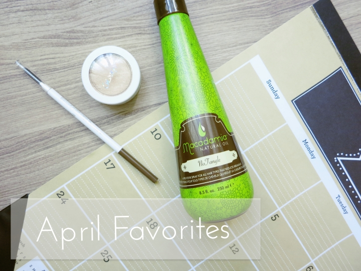April 2016 Favorites