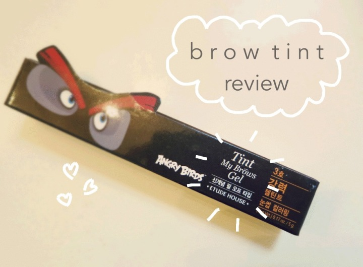 Etude House: Brow Tint Review