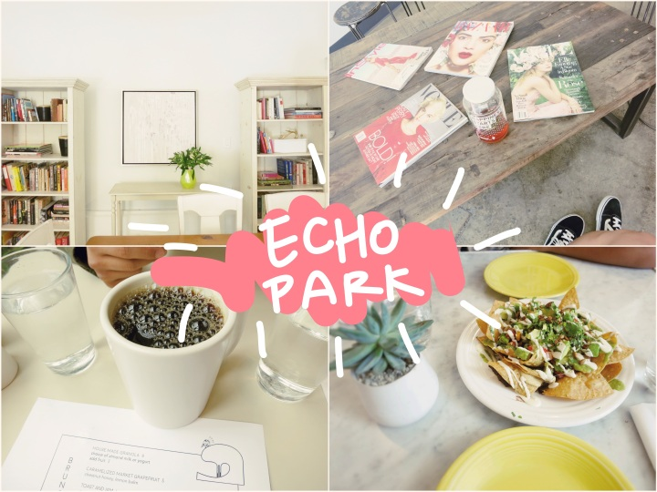 a short stay  in Echo Park, LA