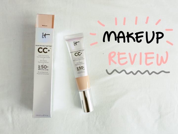 IT Cosmetics CC Cream / In-DepthReview
