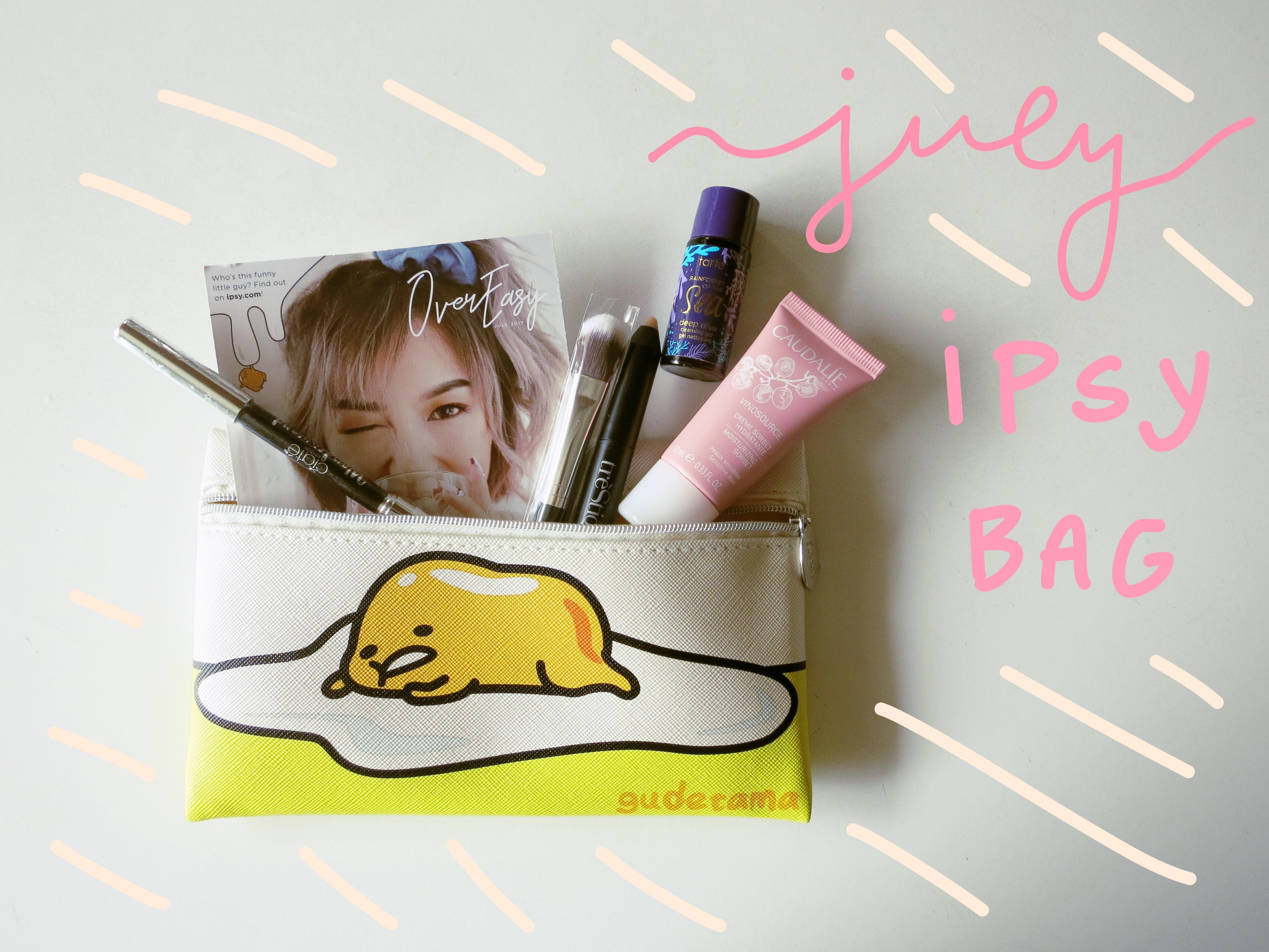 july '17 Ipsy bag